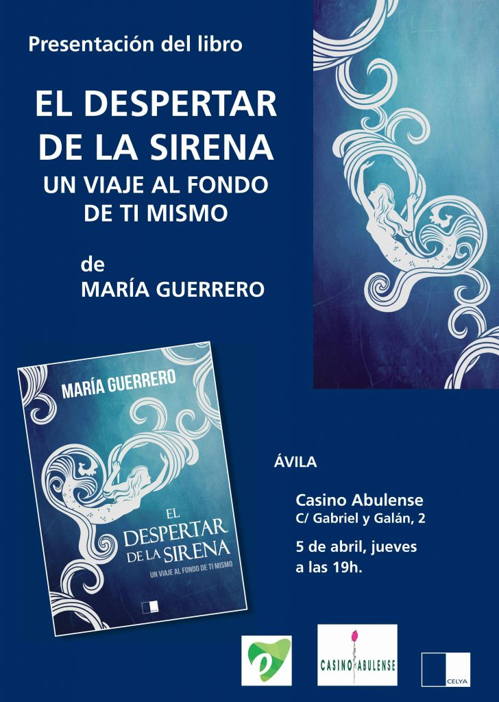 Presentación en Avila de El despertar de la sirena, Un viaje al fondo de ti mismo. Psicologa Murcia