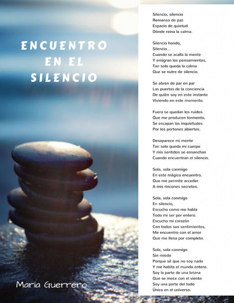 Encuentro en el silencio. María Guerrero. Psicologa