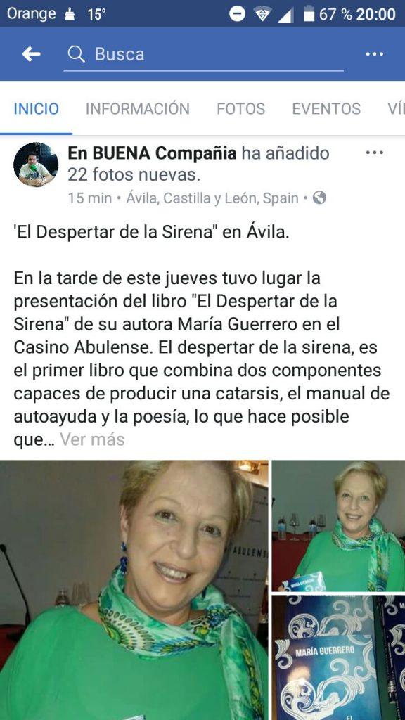 Presentación Ávila. Psicologa Murcia