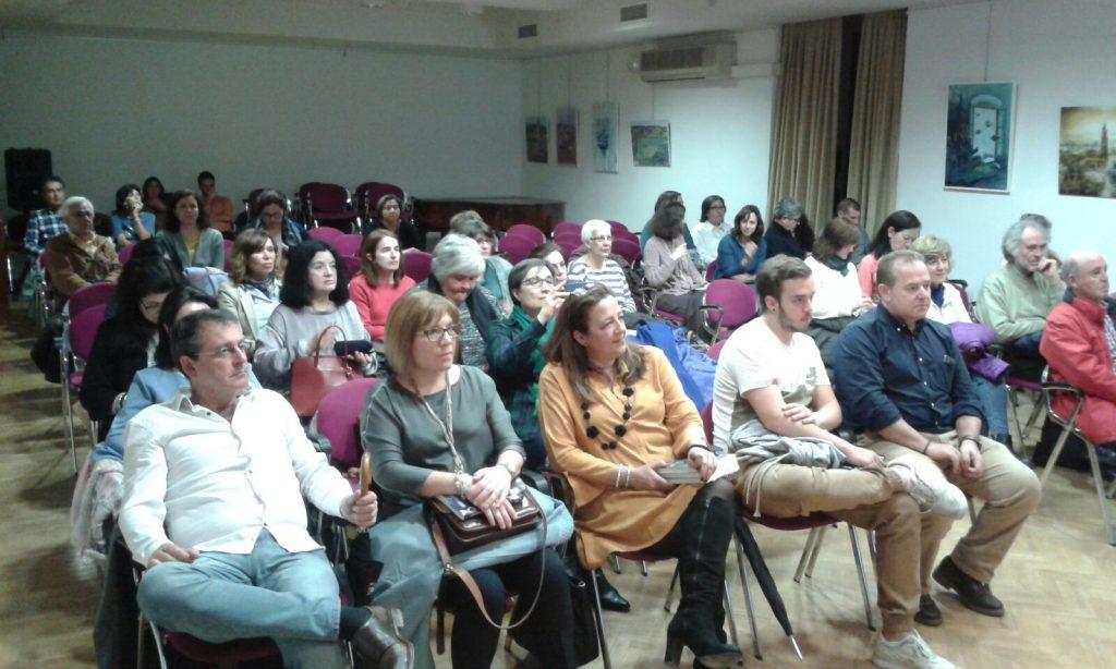 Presentación en Toledo. Psicologa Murcia