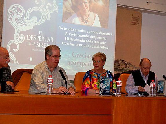 Firma de libros Toledo. Psicóloga Murcia
